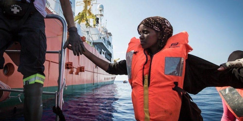 Photo : Anthony Jean / SOS MEDITERRANEE